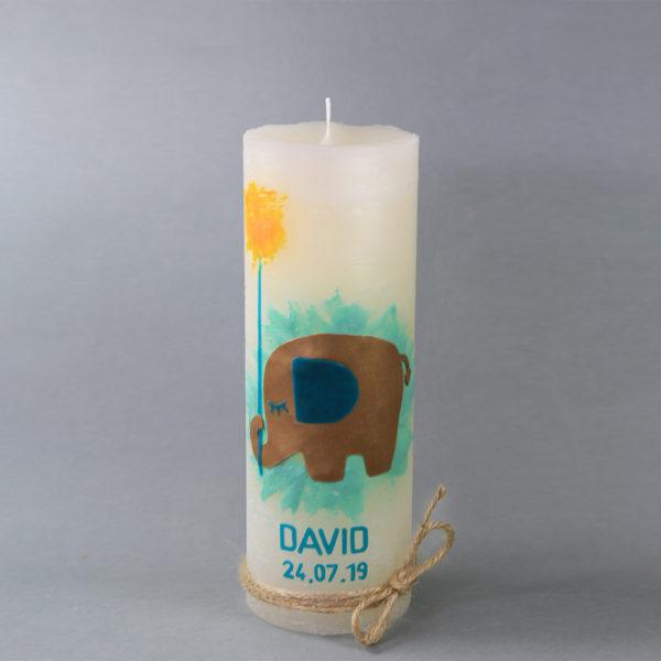 Taufkerze David